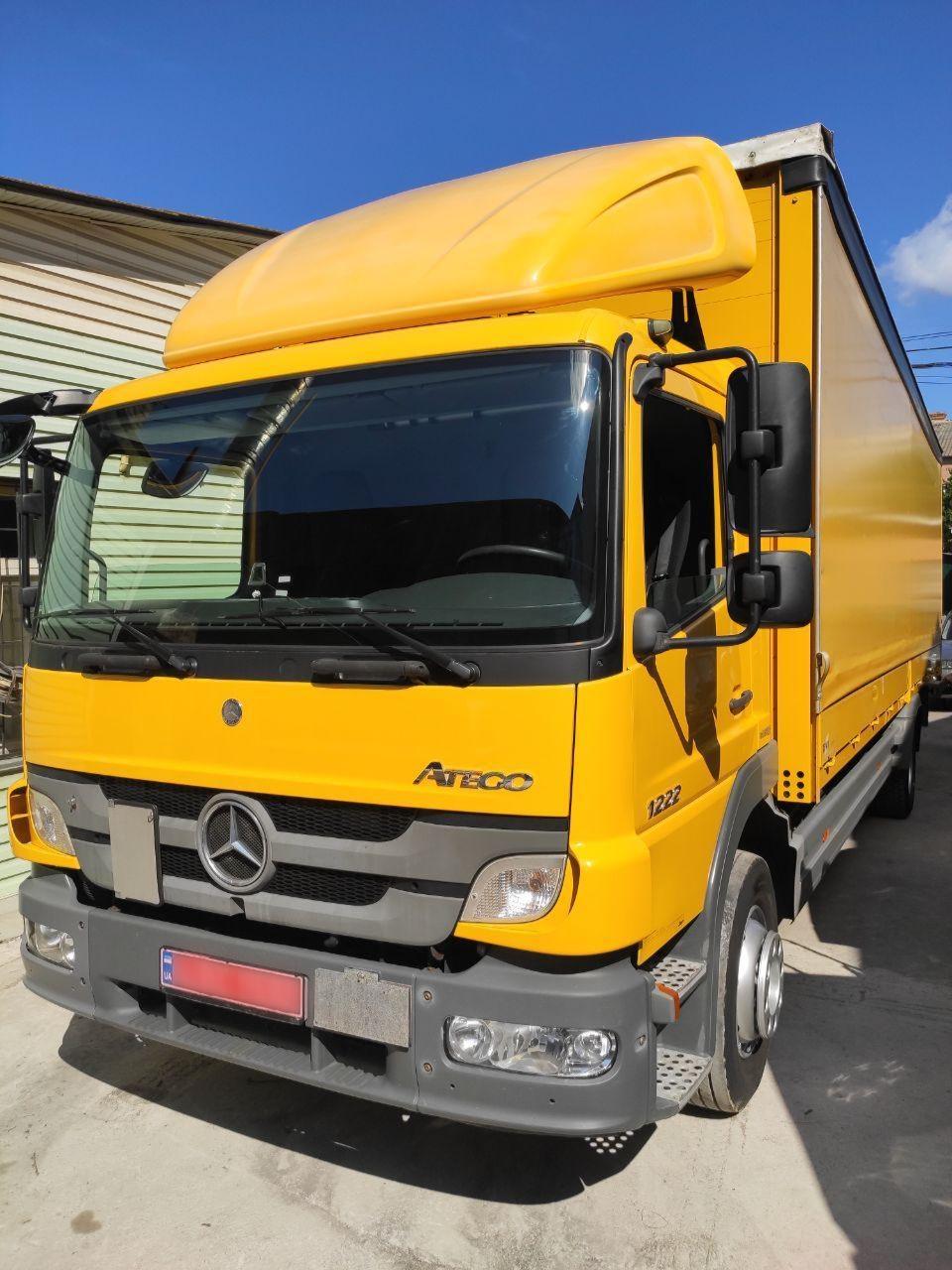Машина 10 тонник Mercedes