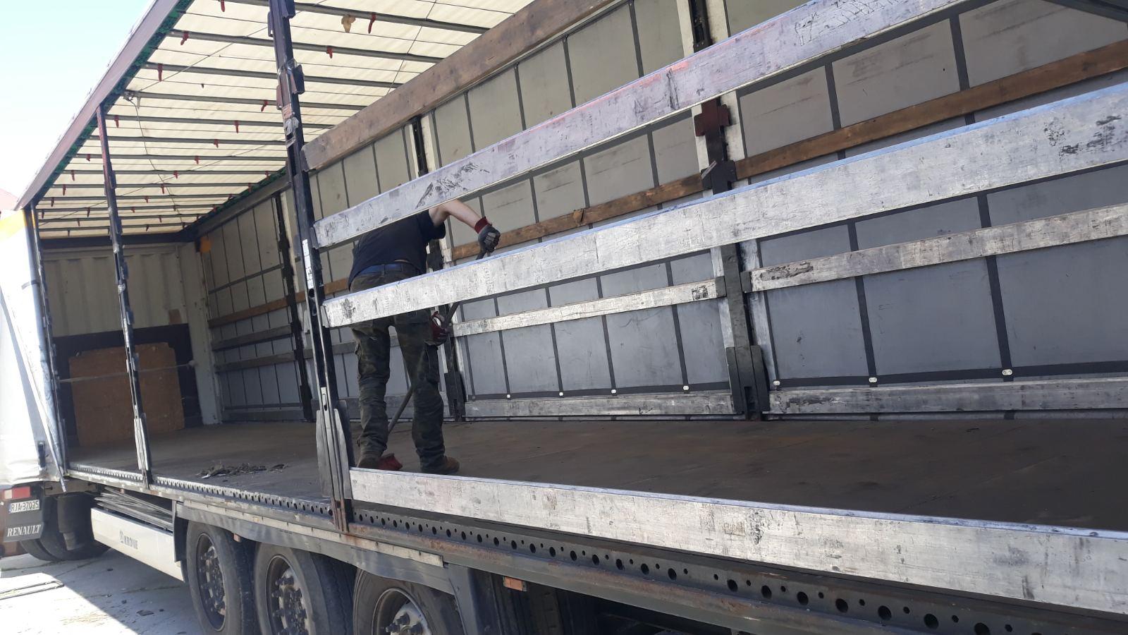 Грузоперевозки фурой до 22 тонн