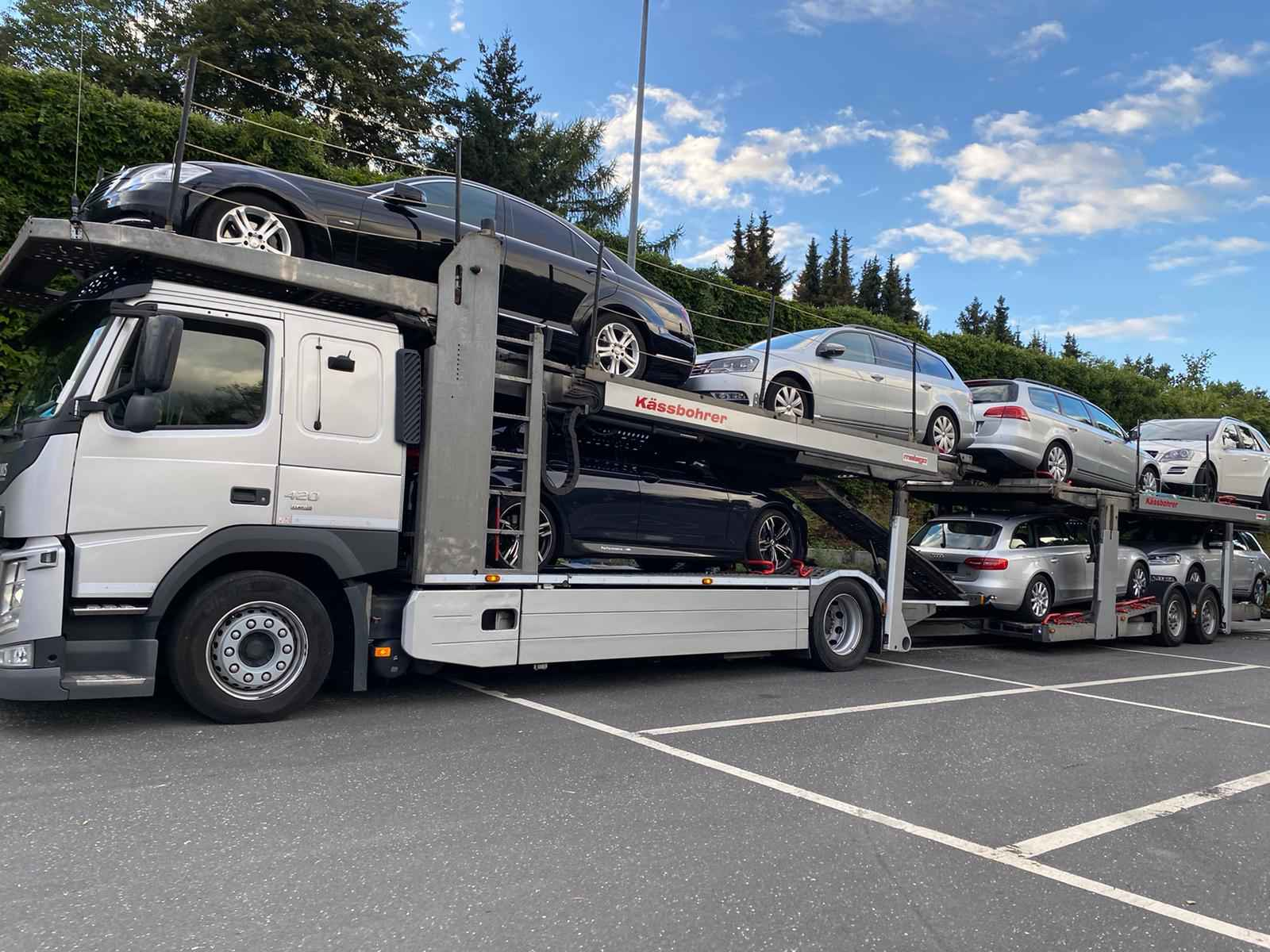 Машина для перевозки автомобилей